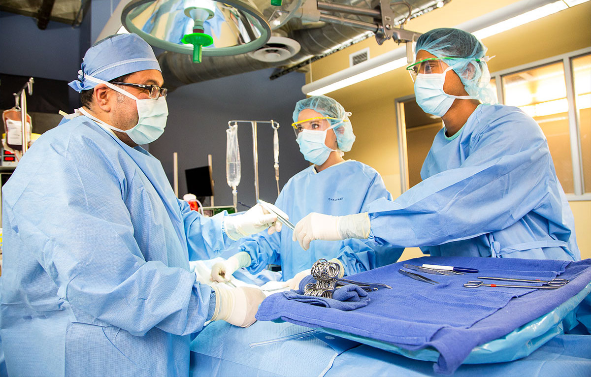 Train to be a Surgical Technologist